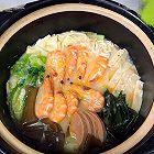 鲫鱼鲜虾砂锅