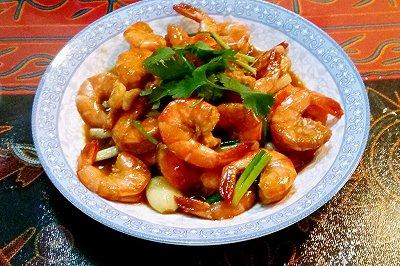 宝宝辅食菜谱:油焖大虾