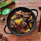 羊肉萝卜暖身火锅