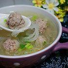 萝卜丝汆肉丸汤