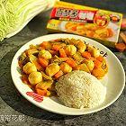 白菜鱼丸咖喱饭