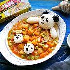 巴沙鱼咖喱烩饭