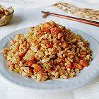酸菜胡洋杂粒饭