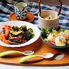 烤虾仁蔬菜沙拉