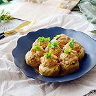 虾仁肉丸酿口蘑