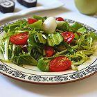亚麻籽油蔬菜沙拉