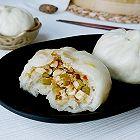 芹蒜虾姜豆腐包