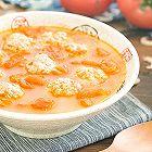 番茄虾皮肉丸