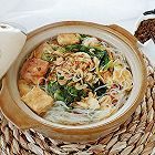白菜豆腐粉丝虾