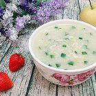 虾皮韭菜粥