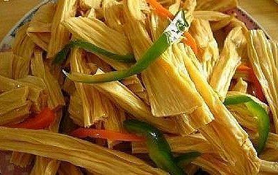 传统美食自制腐竹