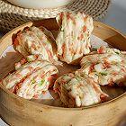 葱香烤肠花卷