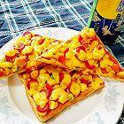 吐司披萨(平底锅超简单版)