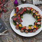 圣诞花环沙拉