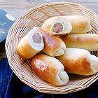 纯肉罗勒香肠早餐面包