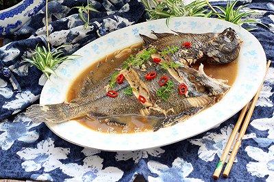 红烧偏口鱼