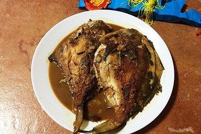 上海年夜饭必备红烧平鱼