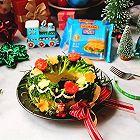 芝士圣诞花环沙拉