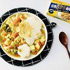 咖喱豆腐饭