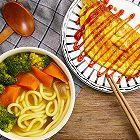 超快蔬菜咖喱乌冬面