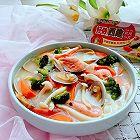 花蛤蘑菇浓汤