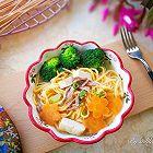 胡萝卜牛肉汤面
