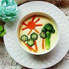 蔬菜蒸蛋羹