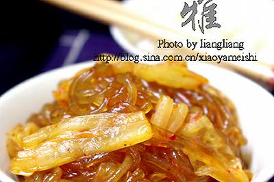 泡菜炒粉条