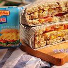 芝士炼奶玉米三明治