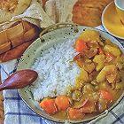 土豆培根咖喱饭