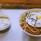 日式酱油炒面