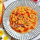 番茄鸡汁卡通意粉