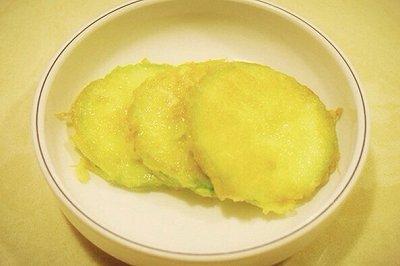 韩国小菜煎小瓜饼