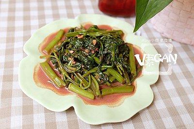 懒人菜谱腐乳空心菜