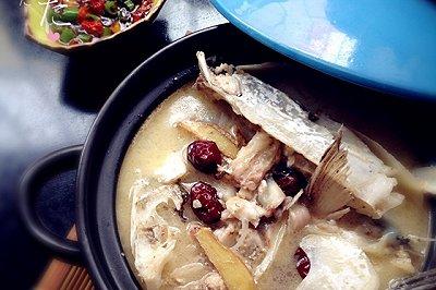 家常菜鱼头汤