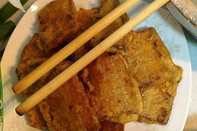 香煎刀鱼(带鱼)