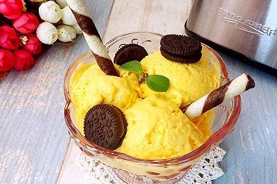 芒果酸奶冰淇淋