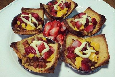 草莓脆脆挞