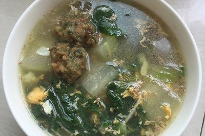 荠菜冬瓜汤