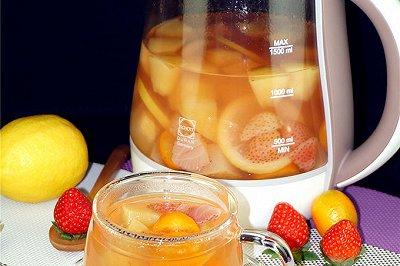 水果茶比喝饮料更健康