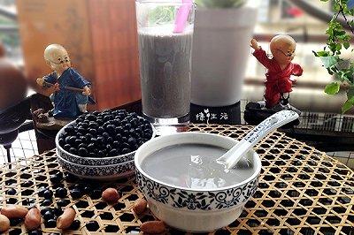 喝出健康芝麻黑豆浆