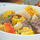 粗粮萝卜排骨汤