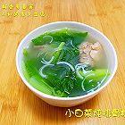 小白菜炖排骨粉条