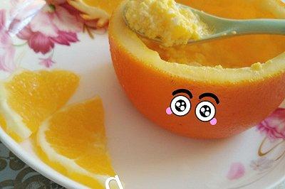 宝宝餐香橙鸡蛋羹