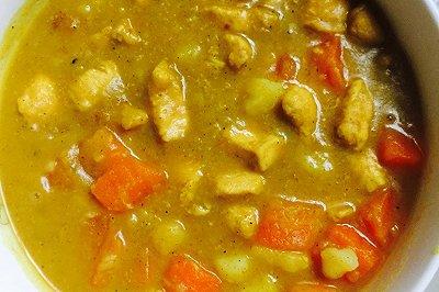 咖喱土豆鸡块