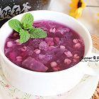 紫薯银耳薏仁