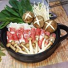 肥牛菌菇锅