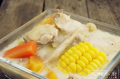 浓香椰汁鸡