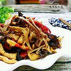 黄花菜木耳炒肉丝
