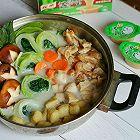 豆乳鸡肉菌菇锅